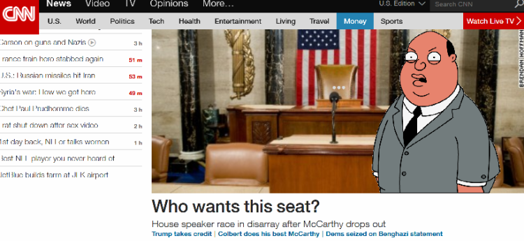 A CNN headline reminded me of an old Family Guy bit. Republicans, get your shit together. Or don't, it's entertaining.